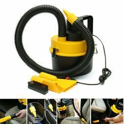 12V HandHeld Wet & Dry Vacuum Cleaner Inflator Turbo Dual US
