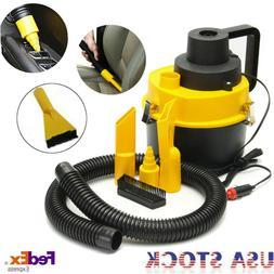12V Wet Dry Vac Vacuum Cleaner Inflator Portable Turbo Hand