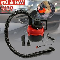 12V Wet Dry Vacuum Cleaner Inflator Portable Turbo Hand Held