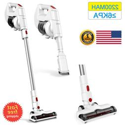 2-In-1 Cordless Stick Vacuum Cleaner HEPA 6Kpa Brush Tool Fl