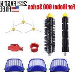 Replacement Parts Kit For iRobot Roomba 600 Series Vacuum Fi