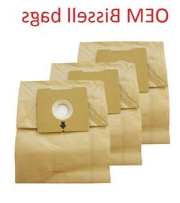 OEM Bissell Zing Canister Vacuum Bags, Model 4122, 2138425