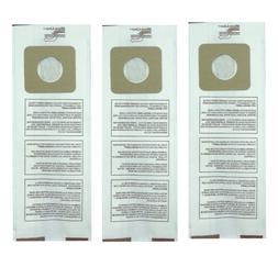 3 Upright Vacuum Cleaner Bags for Panasonic Type U, U-3, and