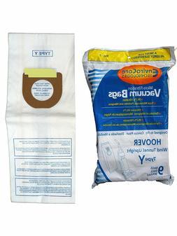 Hoover 43655109, 4010100Y, 856-9 Type Y Vacuum Bags Micro Fi