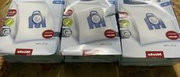 4x Genuine New 3D Efficiency HyClean Dust Bags For Miele GN
