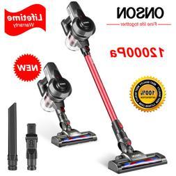 ONSON Cordless Handheld Stick Vacuum Cleaner Carpet Floor Cl