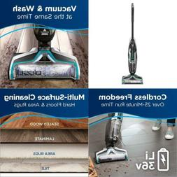 CrossWave Cordless Floor and Area Rug Cleaner with Wet-Dry V