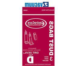 Royal/Dirt Devil Type D Upright Vacuum Cleaner Bags # 3-6701