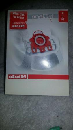Genuine Miele Vacuum Cleaner AirClean Dust Bags Type FJM Pac