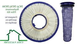 HEPA Post + Pre Filter For Dyson DC41 DC65 DC66 Animal Vacuu