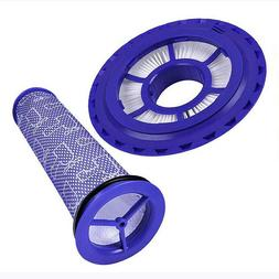 HEPA Pre & Post Replacement Filter Fit For Dyson DC41 DC65 A