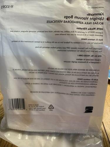 Kenmore Bags Cleaners Storage O HEPA