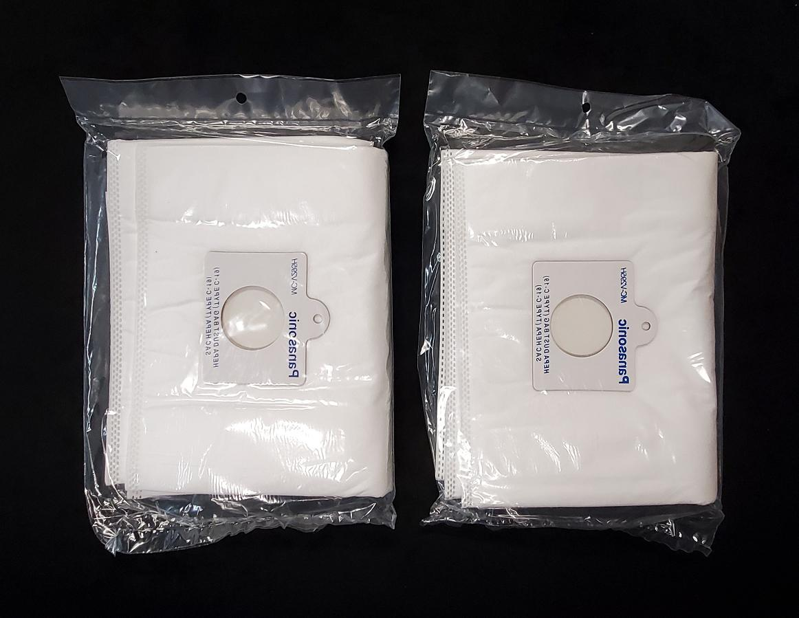 4 Panasonic C-19 Cleaner Bags
