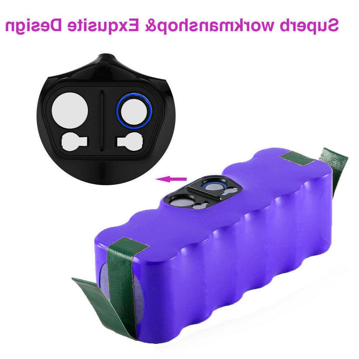 4500mAh 14.4V Roomba 890 600 Robot Vacuum Cleaner
