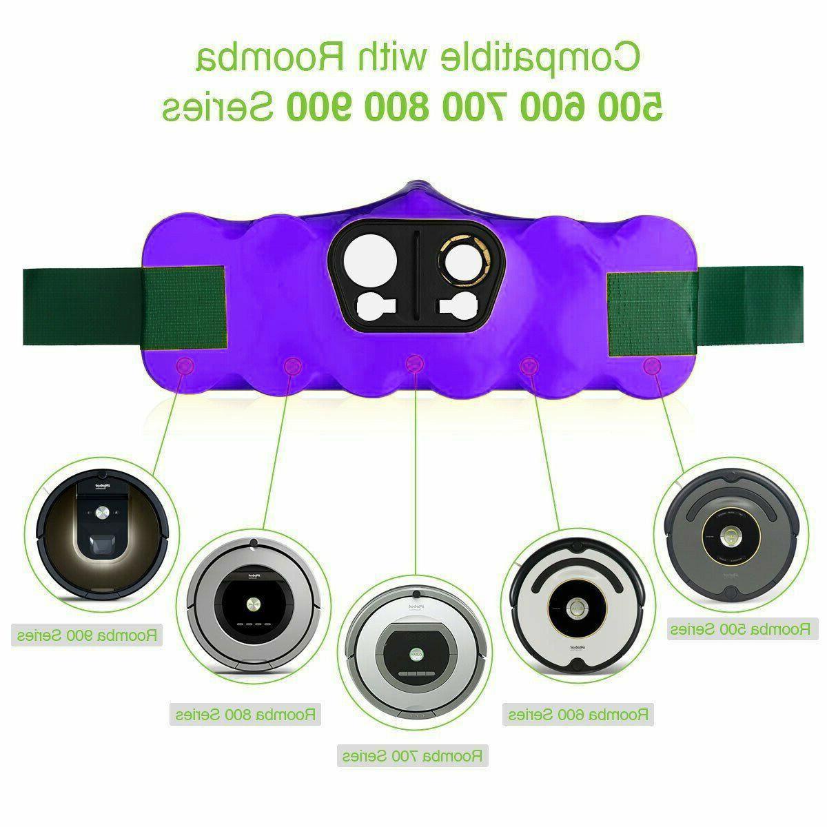 4500mAh 14.4V Roomba 890 500 R3 600 Cleaner battery