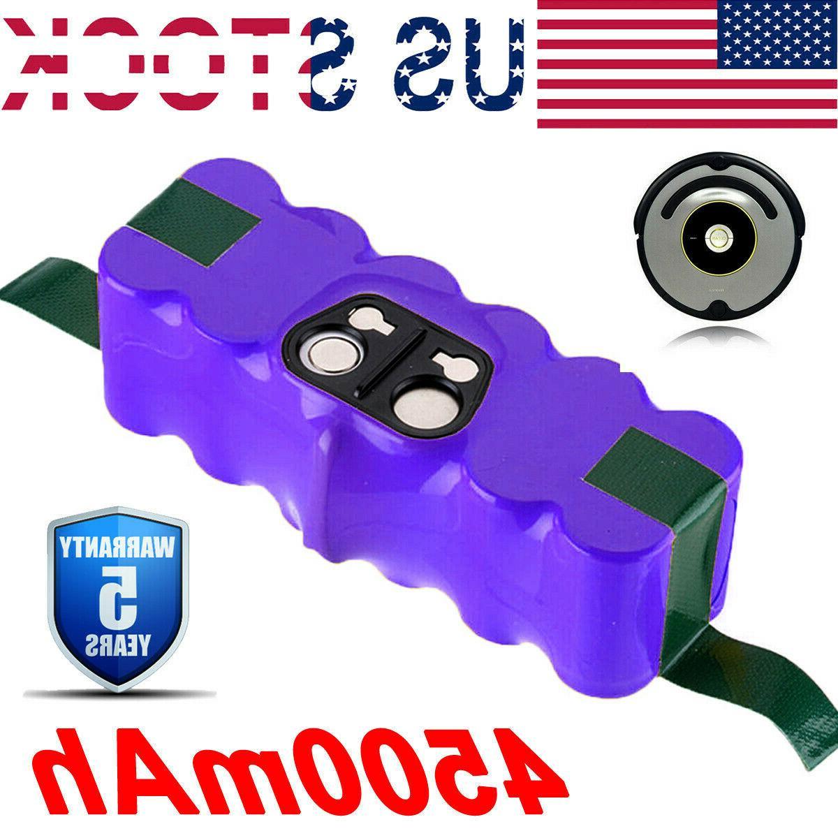 4500mah 14 4v for irobot roomba 890