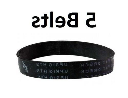 5 flat belts for oreck xl xl2