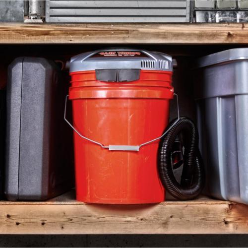 Bucket Head 5 Wet Dry Vac Portable Pro Vacuum Cleaner