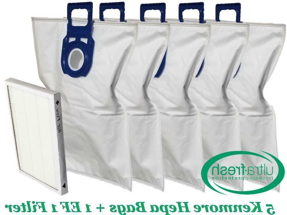 5 vacuum cleaner bags cloth type u
