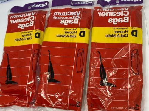 9 bags hoover type d vacuum cleaner