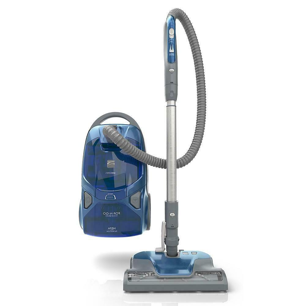 bagged canister vacuum floor cleaner pet friendly
