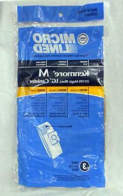 Kenmore Canister M Vacuum Cleaner Micro Filtration Bags 5119