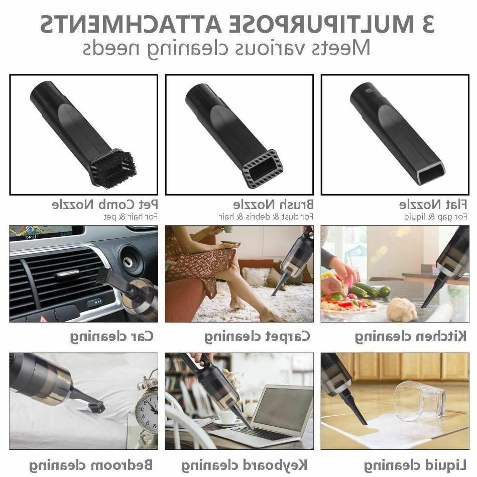 Car Vacuum Cleaners Cordless Portable Battery