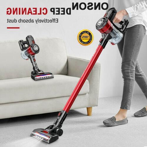 cordless handheld stick vacuum cleaner carpet floor