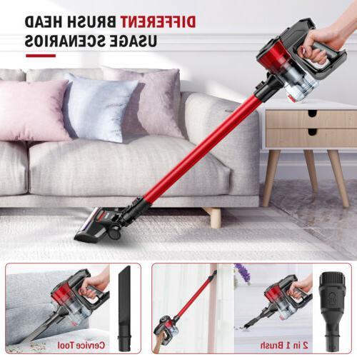 ONSON Cordless Stick Vacuum Cleaner in 1 LED Floor