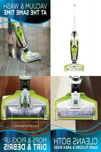 crosswave floor and carpet cleaner with wet