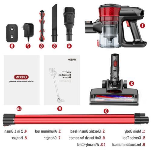 ONSON Stick Vacuum Cleaner Floor Sweeper