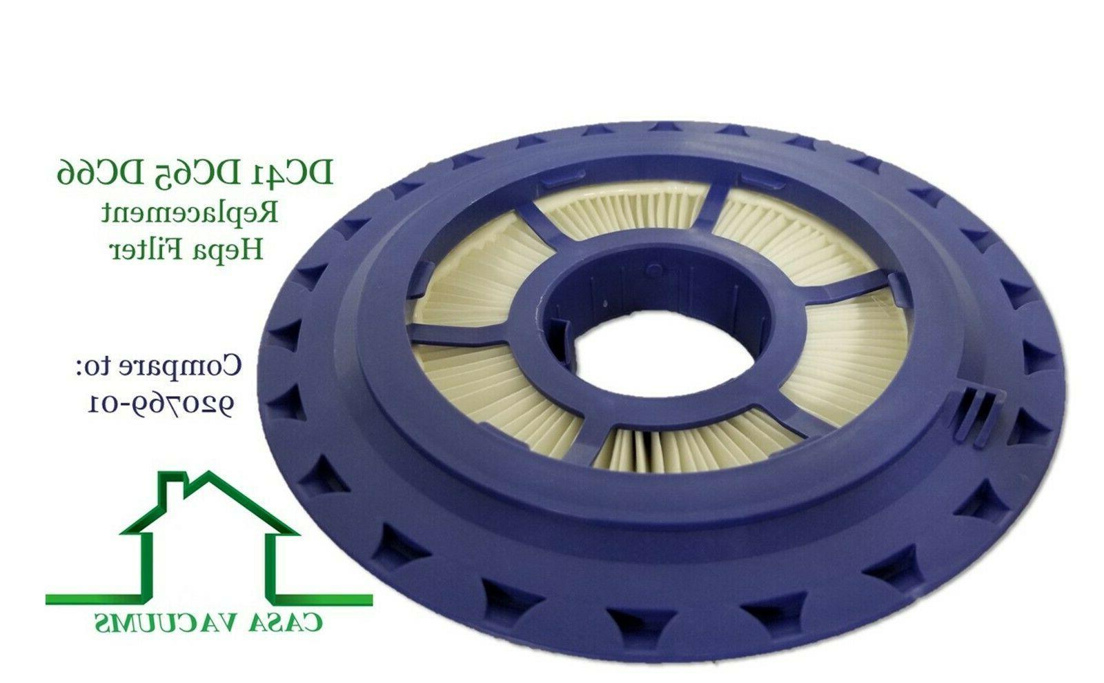 HEPA + Filter For DC65 DC66 Vacuum Cleaner