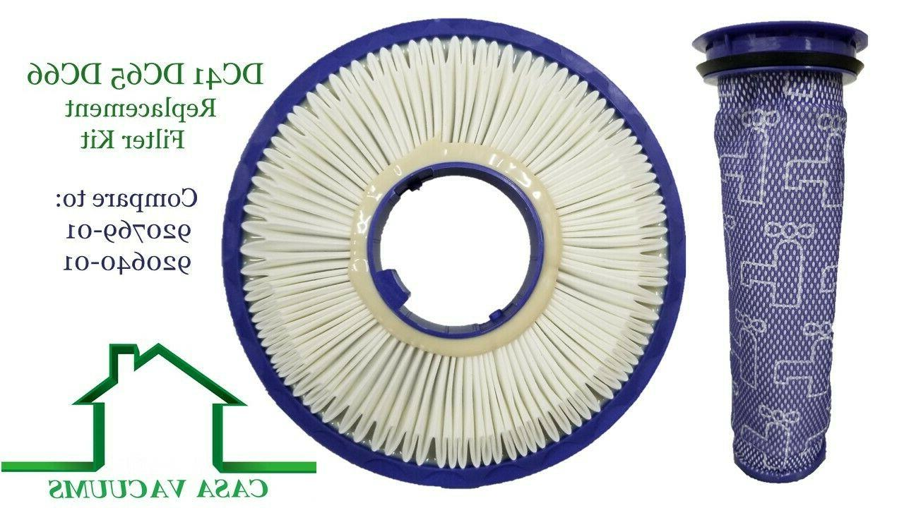 hepa post pre filter for dyson dc41