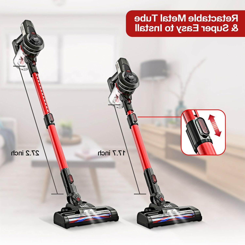 INSE Cordless 12KPa Vacuum Cleaner 2-in-1 Compact Handheld