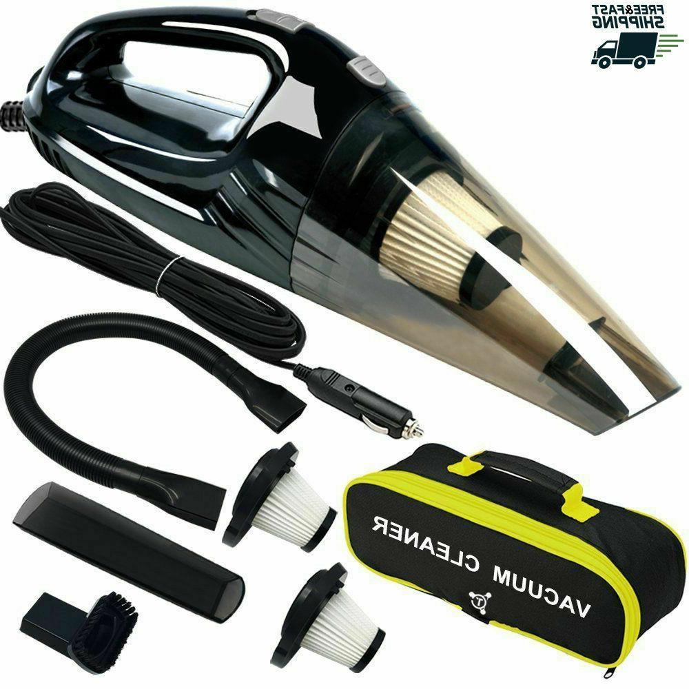 powerful car vacuum cleaner portable wet