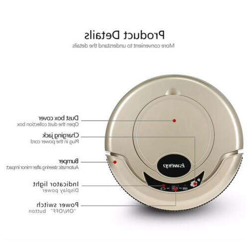 EU/US Robot Cleaner Dust Sweeping Cleaning