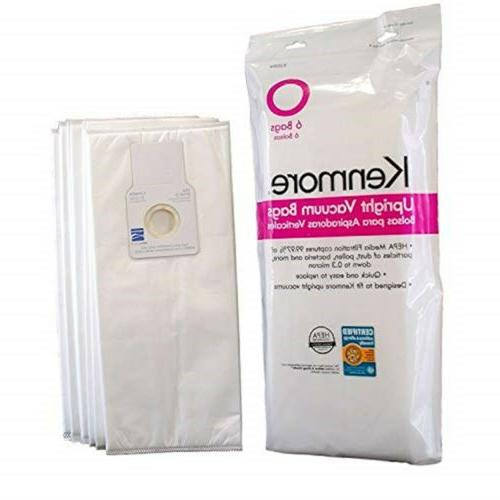 type o hepa vacuum cleaner bags containing