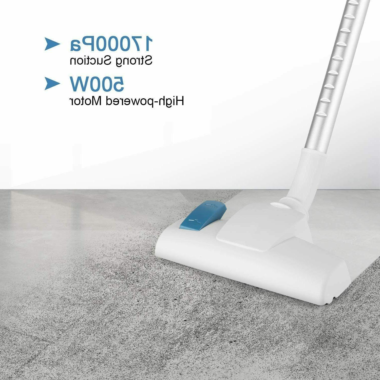 MOOSOO Vacuum Cleaner 17KPa Suction Stick 2 in 1 Upright D600 Hot