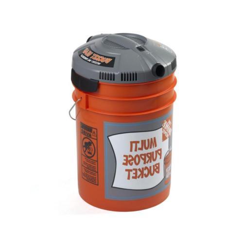 Bucket Head Gal Wet Portable Pro Vacuum Cleaner 1.75 HP