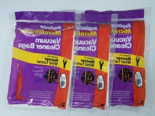 y vacuum bags 2 for hoover wind