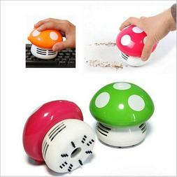 Mini Vacuum Cleaner 6 Colors Cute Mini Mushroom Corner Desk