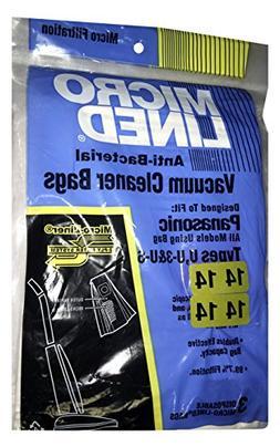 Panasonic Paper Bag U3/U6 Alergen 3 Pack Dvc Replacement #43