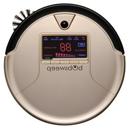 PetHair Robotic Vacuum Cleaner and Mop, Champagne, Sweeps, V