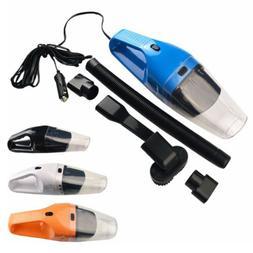 Portable Car Vacuum Cleaner Wet Dry Dirt Dust 12V Mini Handh