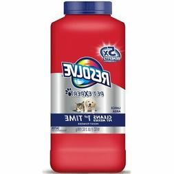 Resolve Pet Carpet Cleaner Powder, 18 oz Bottle, For Dirt St