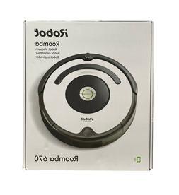 iRobot Roomba 670 Robot Vacuum-Wi-Fi Alexa Connectivity BRAN
