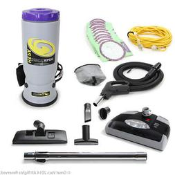 ProTeam NEW Proteam Super Commercial Backpack Vacuum W. Head