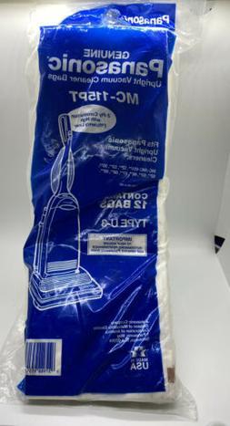 PANASONIC UPRIGHT VACUUM CLEANER BAGS, TYPE U-3, MC-115PT, Q