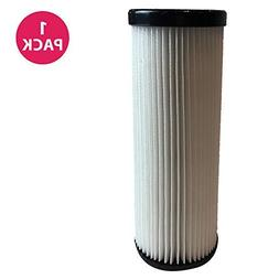 Crucial Vacuum WASHABLE REUSABLE HEPA Filter; Compare Dirt D