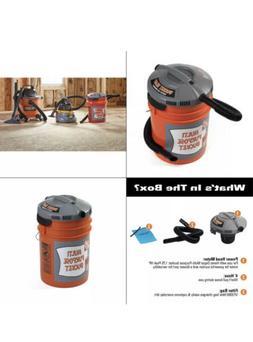 Bucket Head Wet Dry Vac Powerhead Portable Home Depot Bucket